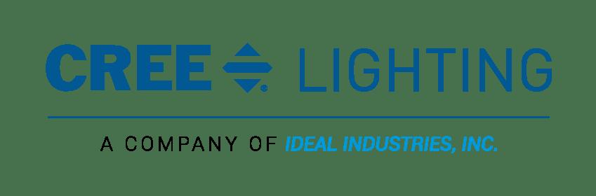 Cree-Lighting_IDEAL_Lock-Up_Horizontal_Blue (Web)