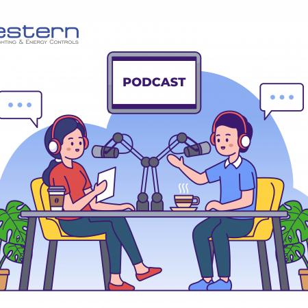 WLEC Podcast Concept Illustration Email